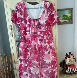 Women's 16 GORGEOUS floral print dress